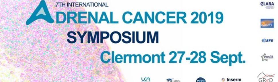 The 7th Adrenal Cancer Symposium : 27-28 september 2019